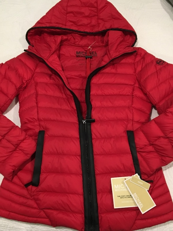 443e1999 Used Michael Kors packable down coat for sale in Hazlet Township - letgo