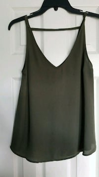 Express Small Olive Green Tank Top Chantilly, 20152