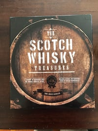 Scotch Whiskey History Book and Paraphanalia. New condition. Edmonton, T5B 2E8