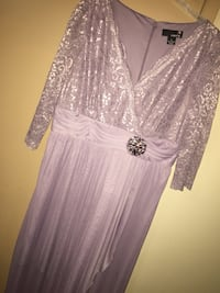 Laura Purple party Dress size#16 new and clean  Kitchener, N2C 2M2