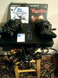 PlayStation 2 all wires 2 controllers 2 games Philadelphia, 19135