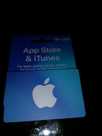 iTunes $ 15 gift card Jersey City, 07305