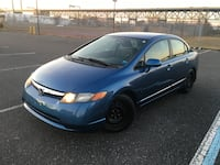 2007 HONDA CIVIC BLUE LX CLEAN TITLE