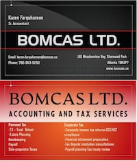 Edmonton Alberta Accounting & Tax Services