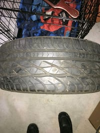 ...four 225/50 tires with infiniti 17 inch rims