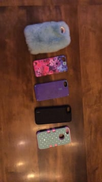 iPhone 5/s cases $20 each 42 km
