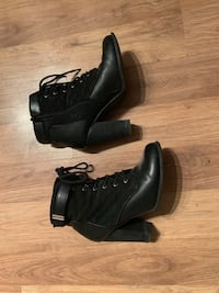 Black Fall Booties from Spring Toronto, M6K 1E6