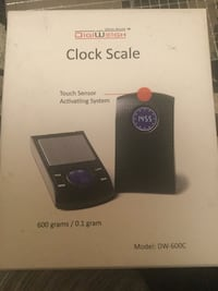 Clock kitchen scale London, N6B 1X7