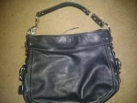 Authentic coach purse black leather El Cajon, 92021