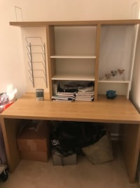 Study Or Office Desk with shelves  2 km
