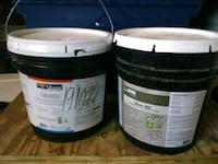7 gallons of Shaw floor adhesive 150 cash  47 mi