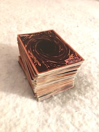 Tall Stack of Classic Yugioh Cards 31 mi