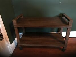 Wooden Rolling table