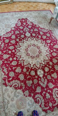 Persian Red and white floral area rug 6×10 Mississauga, L5R 1R6