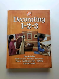 Home Deport Decorating 1-2-3 Hardcover Book