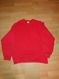 women's red long-sleeved shirt 554 km