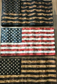 Flag decor thin blue and red line also available  Quantico, 22134