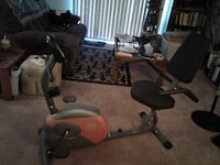 Marcy Recumbent Excercise Bike with Resistance ME 709 Fresno