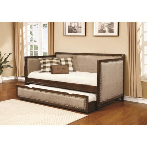 Carrie upholstery day bed with trundle