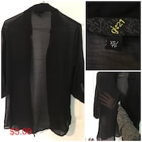 Black button-up jacket Orillia, L3V 1N7