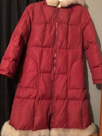 Red zip-up bubble jacket Newmarket, L3X 2P4