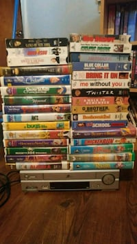 VHS player & movies Guelph, N1H 2V6