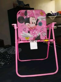 Kids mini mouse fold up chair