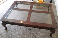 3 Glass coffee table set Chaparral, 88081