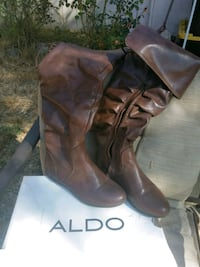 Brown leather boots  Hayward, 94544