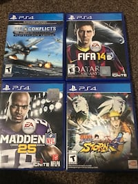 PS4 games Spanish Fork, 84660