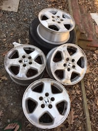 3 set rim for sale each $250 honda accord/honda crv/lexus ls400 Woodbridge, VA 22191, USA