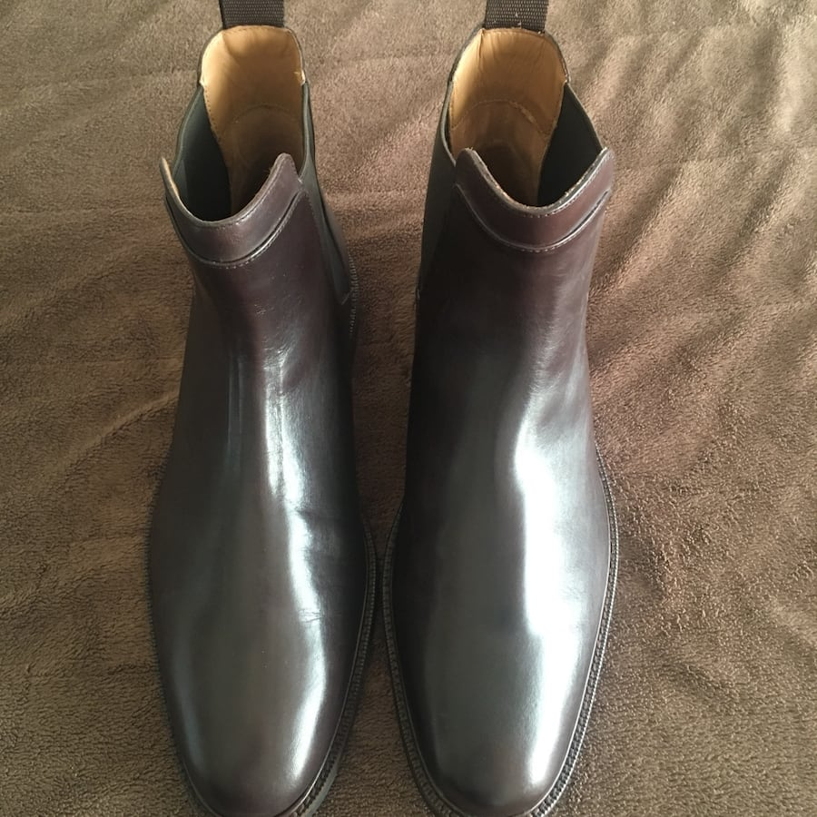 Men's Cole Haan Slip on Boots. New. Size 8.5.