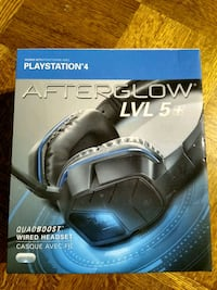 Afterglow Lv 5 Gaming Headset for PS4 - Black