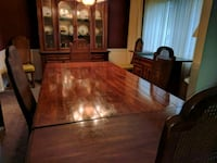 brown wooden dining table set Silver Spring, 20904