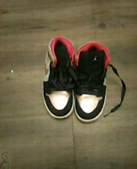 pair of black-and-pink Nike sneakers Pinole