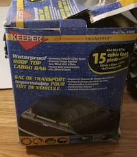 Keeper waterproof roof top cargo bag  15 cubic f Chantilly, 20151