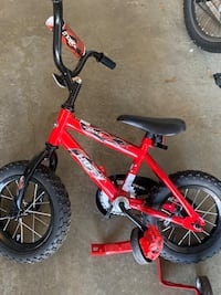 12 inch kids bike with training wheel