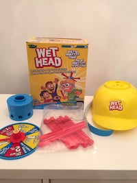 Wet Head Game box excellent conditions all pcs included, the kids can play with it when they are in bath tub 504 km