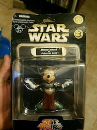 Star wars disney character minnie mouse/princess
