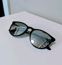Black Matte Reflective Sunglasses