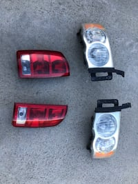 Dodge Ram1500 Headlights & Taillights 2003/2008 Model Staunton, 24401