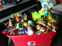 assorted color plastic toy lot Palmdale, 93550