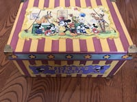 Disney Mickey's Circus Vintage 1990 Toy Box Pickering, L1V 4X8