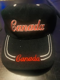Brand New - SMAA CANADA  CAP Black with Red writing.