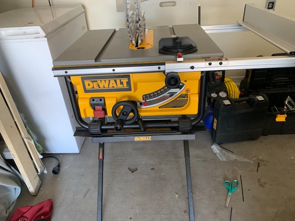 Dewalt 10 Inch Table Saw Brand New