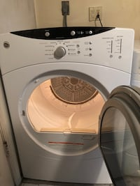 white and gray front-load washing machine Silver Spring, 20905