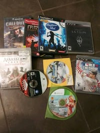 Sony PS3 game case lot Anderson, 96007