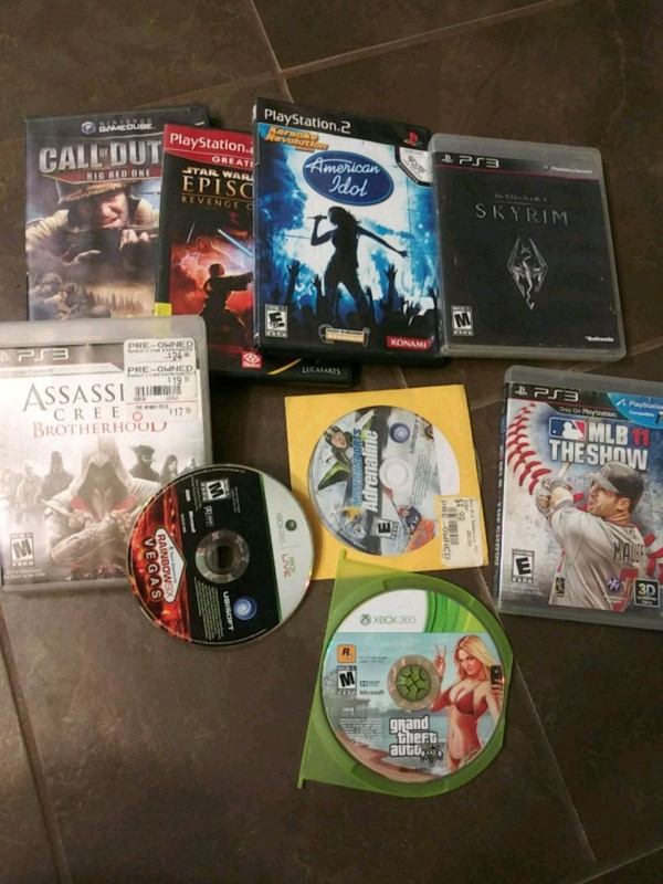 Sony PS3 game case lot