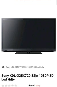 Sony bravia 32in 3d smart tv Winter Haven, 33881
