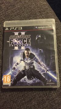 Star Wars Force Unleashed II PS3-spill csae Raufoss, 2830